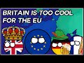 How WW1 And WW2 Shaped The EU | Brief History Of The EU In Countryballs