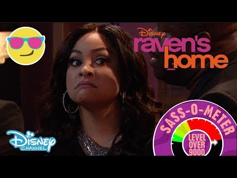Raven's Home | Sass-O-Meter Scale 💁 | Official Disney Channel UK