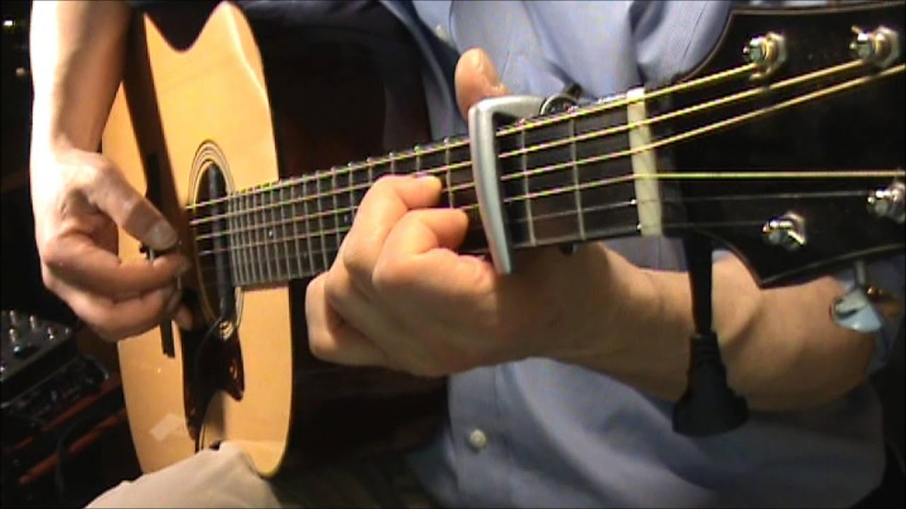 My Favorite Things Fingerstyle Chords From Sound Of Music Youtube