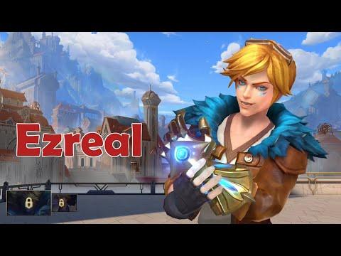 Wild Rift Closed Beta: Ezreal (Marksman) Gameplay