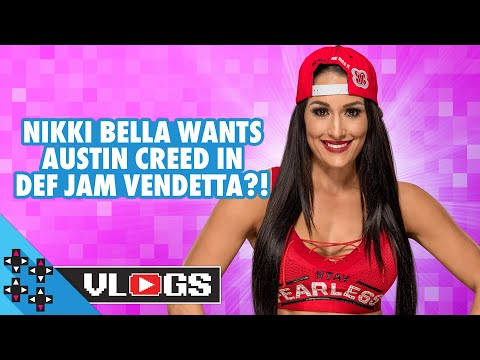 NIKKI BELLA wants AUSTIN CREED in DEF JAM VENDETTA?! - UUDD Vlogs