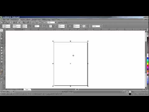 How To Create Letter Pad Design In Coreldraw Tamil part 1