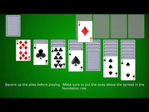 How To Play Klondike Solitaire