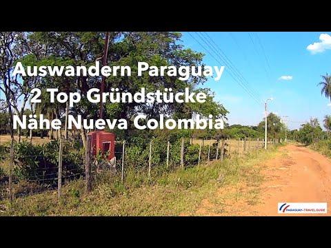 Auswandern nach Paraguay - 2 bezahlbare Grundstücke Nähe Nueva Colombia