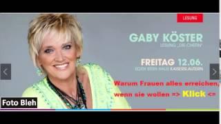 """**Gabi Köster**-  """"Die Chefin""""-  Live am 12.Juni in Kaiserslautern ... klicken !!!"""