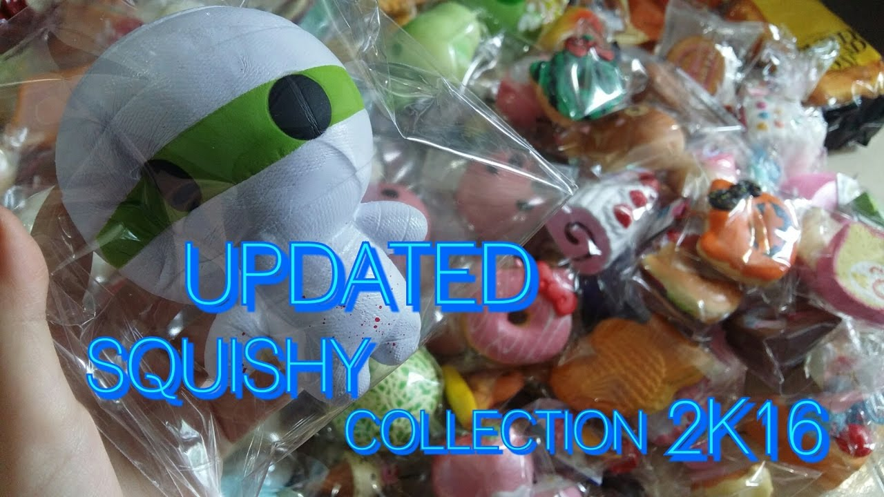 Squishy Collection 2016 : SQUISHY COLLECTION 2016!!! - YouTube