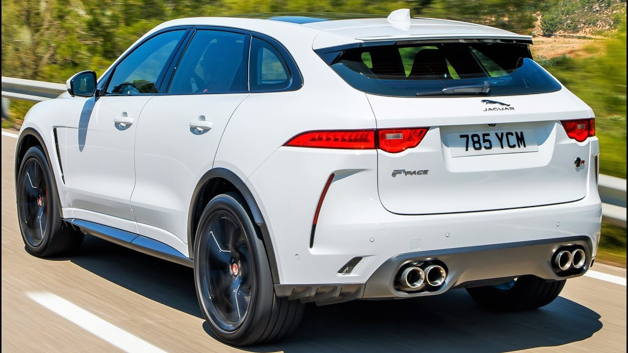 Jaguar Suv F Pace >> 2020 White Jaguar F Pace Svr Practical Performance Suv
