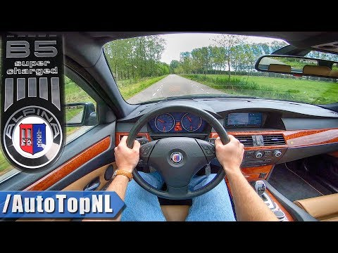 BMW ALPINA B5 S 4.4 V8 SUPERCHARGED 530HP E61 Touring POV Test Drive By AutoTopNL