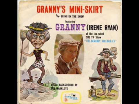 Granny's MiniSkirt by Irene Ryan