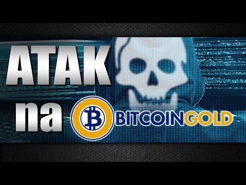 Potężny atak na Bitcoin Gold!