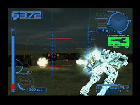 Armored Core 2 Another Age Attack Coastal Defenses