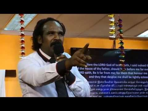 El-Shaddai Ministries Singapore  - Sermon Honor Me and I will Honor You