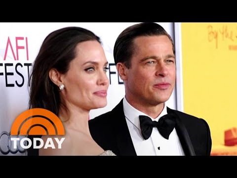 Brad Pitt Speaks Out About His Split With Angelina Jolie  TODAY