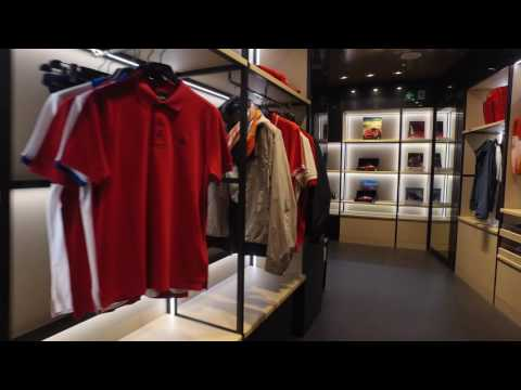 Inside The Milan Ferrari Store