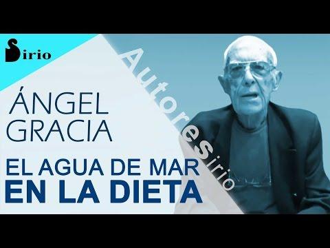 EL AGUA DE MAR EN LA DIETA - Dr. Ángel Gracia
