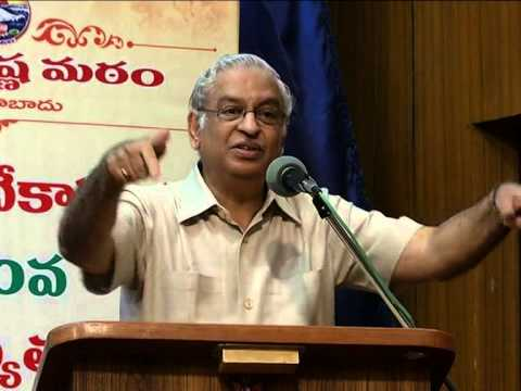 Dr.K.S.Ratnakar Speaking on 3-Day Youth Festival(12-01-2014)