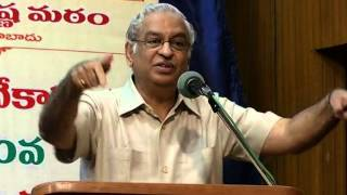 Dr.K.S.Ratnakar Speaking on 3 Day Youth Festival(12 01 2014)