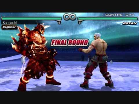 Tekken Dark Resurrection: Jinpachi playable/jouable - YouTube