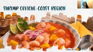 Shrimp ceviche-Coast region
