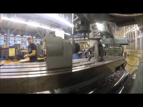 UW formula SAE piston adapter machining time lapse
