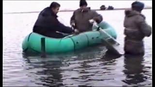 Тиксинская рыбалка на ''живца в противогазе''