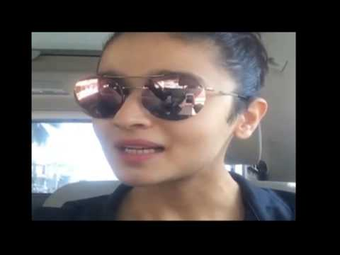 Watch Alia Bhatt Live video chat with Fans