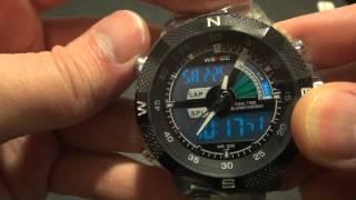 Мужские наручные часы Weide с aliexpress com(Ссылка на продавца: https://goo.gl/5F1SYI На GearBest: https://goo.gl/vpwo7X ➤ Скидки до 20% при заказах в Интернет магазинах: https://goo.gl..., 2013-12-22T17:12:44.000Z)