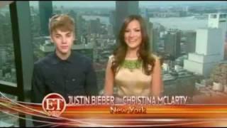 Justin Bieber Co-hosts Entertainment Tonight