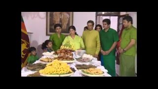 President Celebrating Sinhala and Tamil New Year with his family at the official Residence