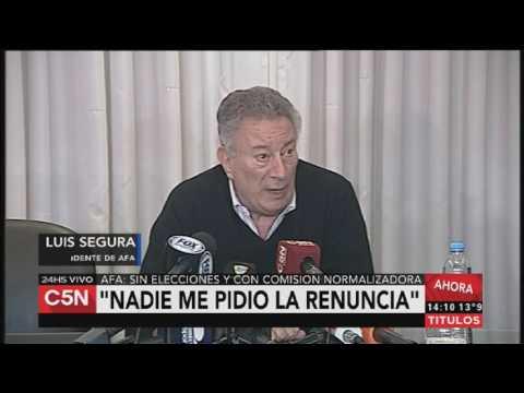 C5N - AFA: Luis Segura
