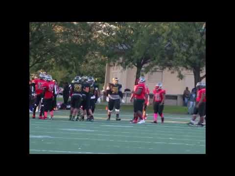 Westinghouse Warriors vs Al Raby Raiders JV Football 2017 (Part 1)