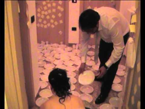Super scherzi a casa degli sposi luca elisiana-il rientro-1°parte - YouTube WP87
