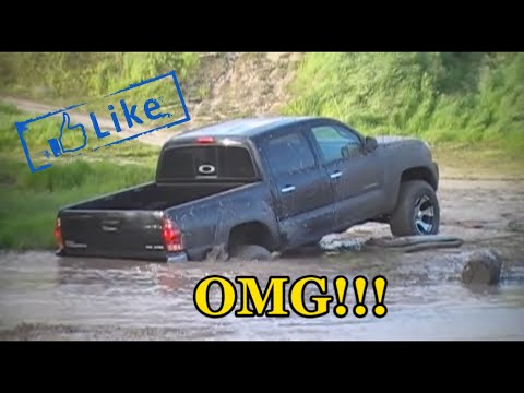 Toyota Tacoma Lifted >> 2008 Tacoma 4x4 off road, mudding - YouTube