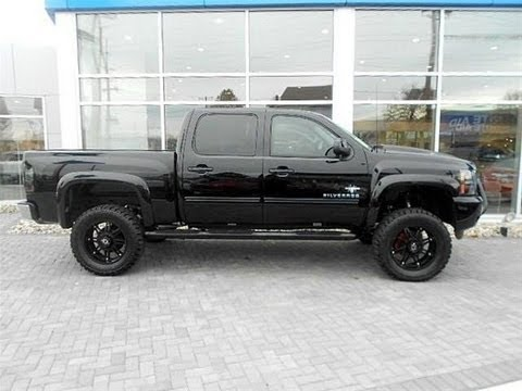 Trucks For Sale Working Trucks For Sale New And Used >> 2013 Chevy Silverado Black Widow Lifted Truck by Southern ...