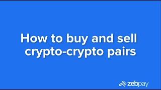 How to trade crypto-crypto pairs on ZebPay screenshot 4