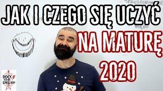 MATURA 2020: Jak i czego się uczyć