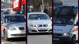 Police Vehicles Responding - Best Of March 2015 - Compilation Xiii