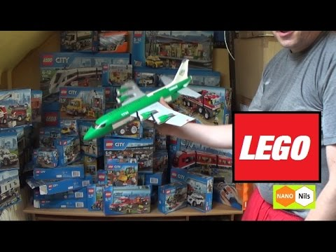 Mega LEGO Shopping ! Jan - Jul 2016 (LEGO City)