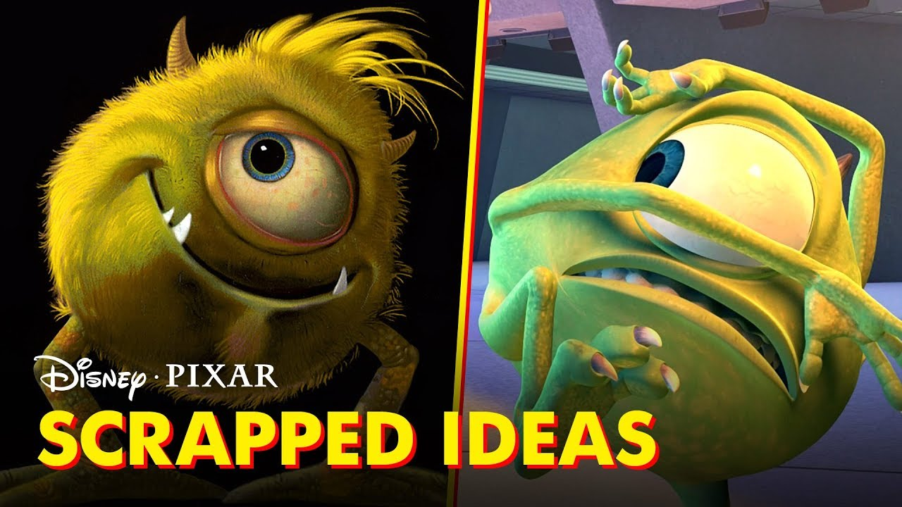 pixar did you know scrapped film ideas youtube