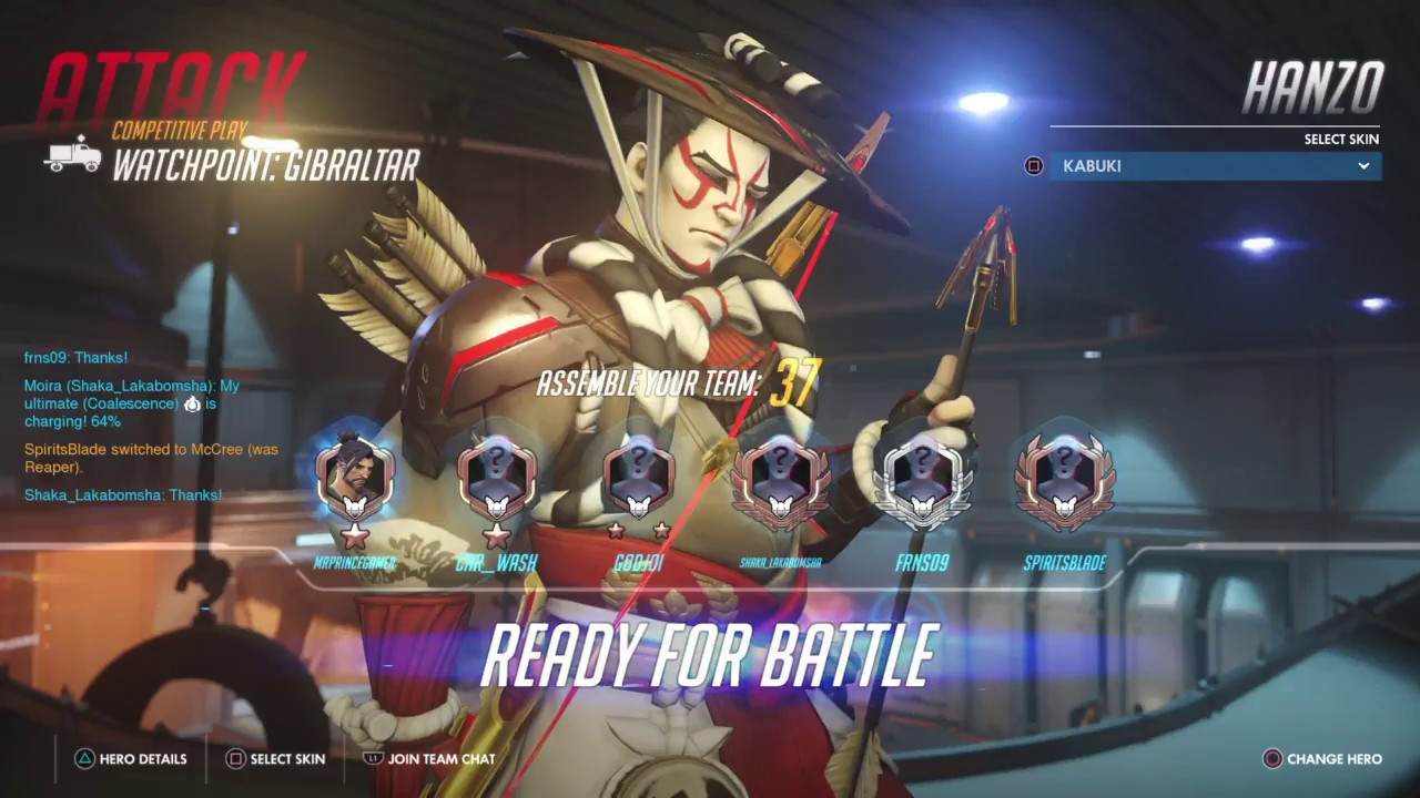 Road to diamond (Hanzo only)