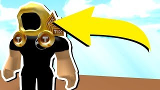 GETTING BANNED ROBLOX ITEMS! *TIX DOMINUS*