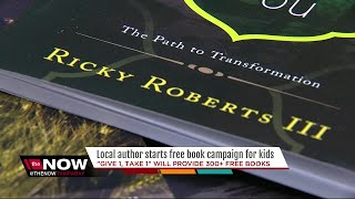 St. Pete author giving away hundreds of books to empower youth
