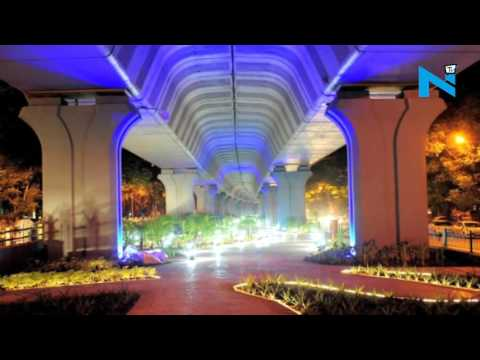 In Pics  Mumbai's first Under the flyover garden at Matunga