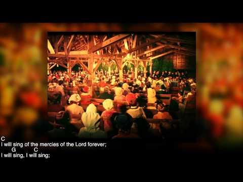 I Will Sing of the Mercies of the Lord  (Bluegrass Gospel Version) Chords & Lyrics