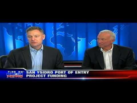 KUSI - Scott & Jerry Sanders Talk San Ysidro Border Funding