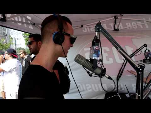 Z103.5 interview with MAKJ at Digital Dreams 2014!
