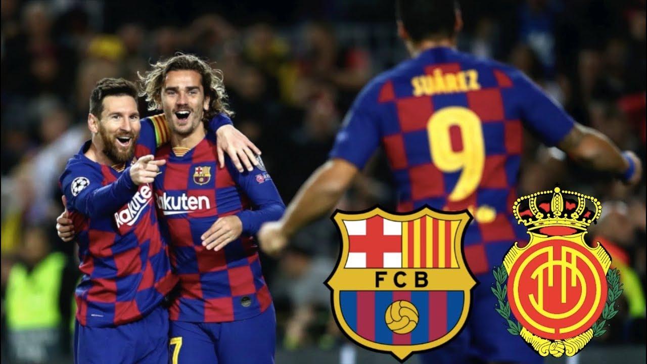 Barcelona Vs Mallorca La Liga   Match Preview Youtube
