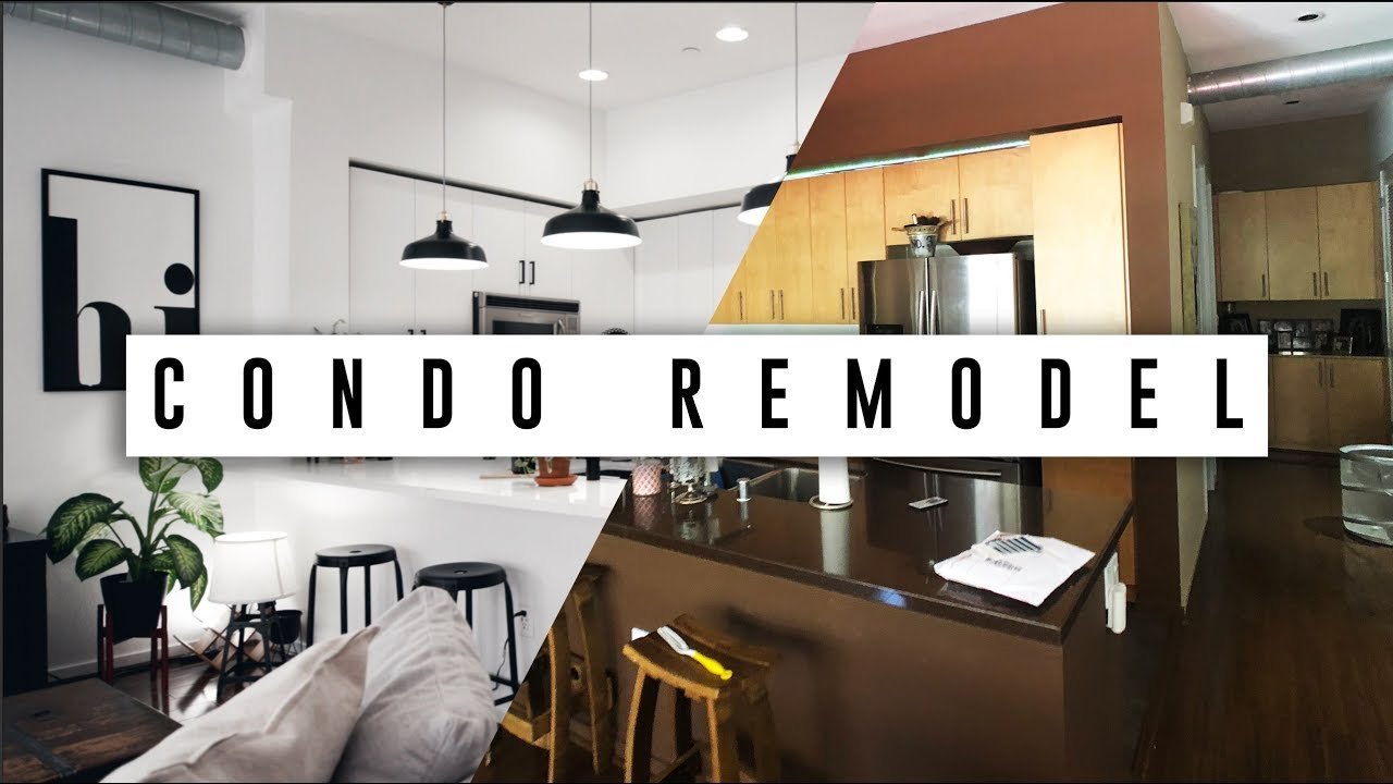 Extreme Condo Remodel Before After Youtube