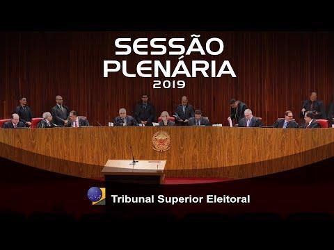 Sessão de Encerramento do Ano Judiciário Eleitoral 2019