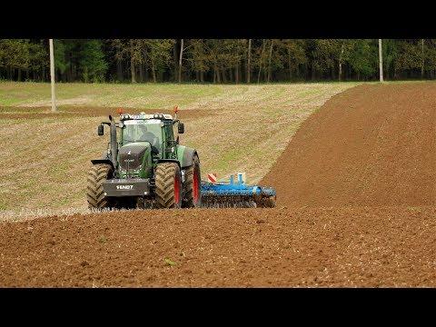 AGRO Chomutice - příprava půdy pod jarní pšenici 2018